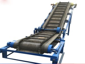 Large Angle Rib Belt Conveyor